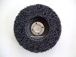 5 Stück Reinigungsscheiben Grobreinigungsvlies CBS 125mm Nylon Reinigungsscheibe
