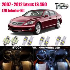 13x Xenon White LED Lights Interior Package Kit 2007 - 2011 2012 Lexus LS 460