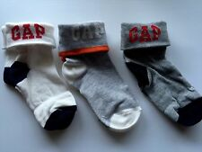 3Pairs Children Kids Boys Cute Fashion Gap Short Warm Sports Socks 3-5years