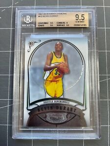 2007 Bowman Sterling Kevin Durant Rookie RC BGS 9.5 GEM MINT