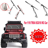 Metal Wipers Window Screen Windshield Wipers for 1/10 TRX4 SCX10 RC Car Upgrade
