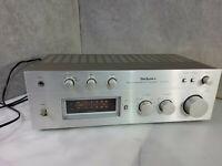 Technics Stereo Integrated DC Amplifier SU-8044 Retro Vintage Japan