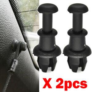 2x For Audi A3 S3 MK2 8P 8V Q5 SQ5 8R Parcel Shelf Tray String Clips Hook Pivot