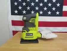 RYOBI P440 18-Volt ONE+ Cordless 1/4 Sheet Sander / Tool Only 235