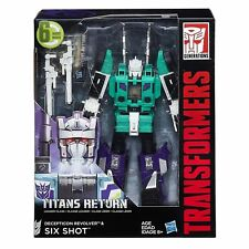 Transformers Leader Class Revolver & Six Shot Titans retour ACTION FIGURE NEW