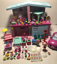 Shopkins Happy Places Grand Mansion House Chandelia Complete + Extras Lot