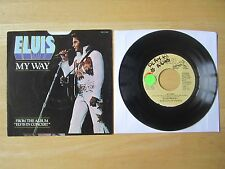 Elvis Presley 45rpm record & Picture Sleeve,  My Way/America, RCA, PROMO, 1977