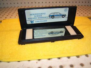 Mercedes W124,C126,R107 Lighted sun visor BLUE mirror 1 Cover / Sticker,Type #2