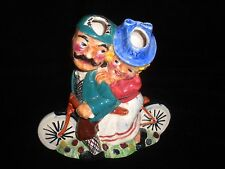 Vintage Shorter & Son England Staffordshire Daisy Bell spill vase Bicycle Fig.
