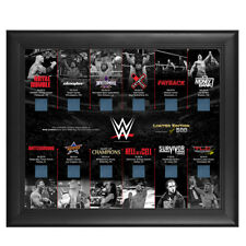 WWE 2014 ppv pay per view Frame Plaque picture 109/500 rare commemorative