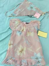 Baby Girle Dress With Headband Made In Italy
