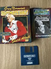 GREG NORMAN'S ULTIMATE GOLF COMMODORE AMIGA 500 FRANÇAIS COMPLET RARE