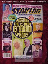 STARLOG October 1993 #195 DAVID MATTINGLY SYLVESTER STALLONE MICHAEL PRAED