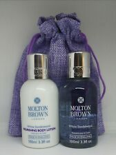 NEW Molton Brown Women's White Sandalwood body wash & lotion MOTHER'S DAY gift