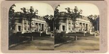 USA Louisiana Purchase Exposition The Ohio State Building Photo Stereo 1904