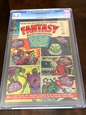 FANTASY MASTERPIECES #1 CGC 6.5 DITKO! KIRBY! A 1966 MARVEL #1! CREAM TO O/W PAG