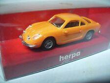 Herpa Renault Alpine, naranja, sin usar en OVP, k1