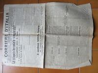 Revista Periódico Época Corriere de Italia 21 Abril 1914 Edición de La Noche
