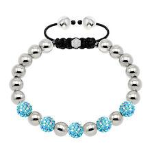020539 Tresor Paris Mixed Light Blue Crystal Bracelet