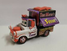 Disney Store Cars Tow Maters Sushi Truck Chase Edition SEE PICS Fast Shipping!!!