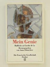 Mein Genie Haßliebe zu Goethe & Co Anna Dünnebier Fischer Verlag