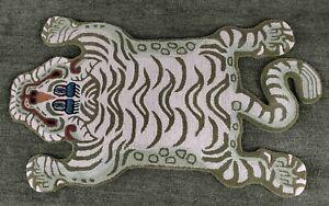 Tibetan Tiger Gray Multi Rug 3x5 feet Creative Pattern Carpet for Living Room