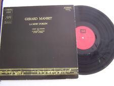 LP 33 TOURS GERARD MANSET LA MORT D ' ORION ,10 TITRES , PATHE 066 15628 VG / EX