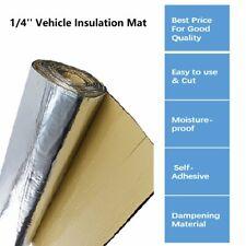 Heat Insulation Lightweight Sound Deadener Material with Adhesive 45''x39''