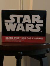Disney: Star Wars-estrella de la muerte USB cargador de coche.! nuevo!