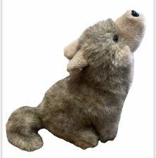 "Vintage Mary Meyer Plush Stuffed Animal Toy ""Tumbleweed"" Howling Wolf Coyote Tag"