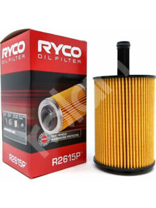 Ryco Oil Filter FOR VW POLO 9N_ (R2615P)