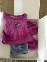 American Girl CHRISSA'S PAJAMAS ~ Pajama Set w/ Slippers ~ Brand NEW in the Box!