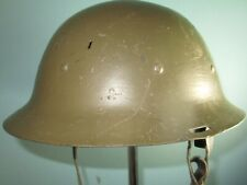 rare, re-used Dutch helmet Model16 Stahlhelm casque casco elmo Kask κράνς 胄 шлем