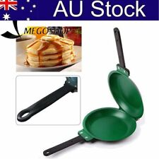 Non Stick Pancake Pan Flip Breakfast Eggs Omelette Flipjack Maker Tools XH