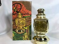 Avon Vintage Auto Lantern Decanter (Empty) Deep Wood After Shave Orig. Box