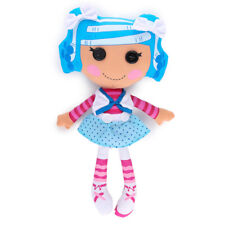 "Lalaloopsy Mittens Fluff 'N' Stuff Soft Doll 16.5 -17"" Plush Button Blue Pink"