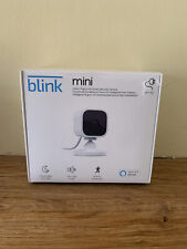 Sealed and New Blink Mini 1080p HD Compact Indoor Plug-in Smart Security Camera