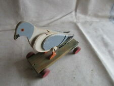 Taube Nachziehtiere Holzspielzeug