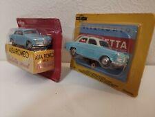 Mercury Hachette - Alfa Romeo Giulietta Sprint + Berline NEUVES