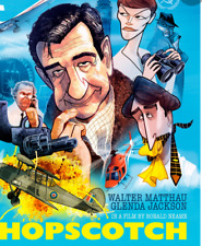 "16mm Feature Film ""Hopscotch"" Walter Matthew 1980 Magnetic/optical sound rare"