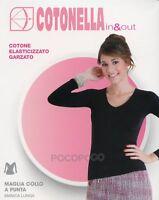 Cotonella Body Lupetto Manica Lunga in Cotone Elasticizzato con Tassello Igienico Linea in /& out Disponibile in Diversi Colori