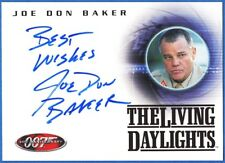 JOE DON BAKER JAMES BOND 40TH Anniversary Autograph Trading Card A2 BEST WISHES