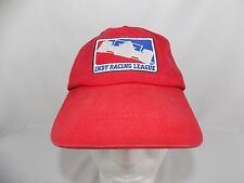 Indycar Series hat cap Indy Racing League Adjustable OSFM Red