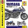 Haynes Yamaha FZ6 Fazer 04-08 Workshop Manual 4751 NEW