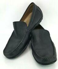 Ecco Mens Shoes Sz 12 Black Leather Comfort Slip On Loafer Eur 45