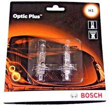 Set of 2 Bosh Optic Plus Premium Headlight Bulb H10P2 12V 55W