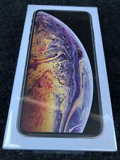 Apple iPhone XS Max A1921-512GB-Gold AT&T +Cricket (CDMA+GSM) Factory Sealed