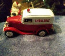 ERTL 1932  Ford Panel Ambulance Car