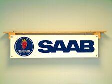 Saab Banner Workshop Vehicle Garage pvc sign 900 turbo, Aero, 9000