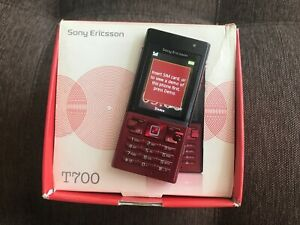 Sony Ericsson T700 - Red (Unlocked) Smartphone *VINTAGE*COLLECTIBLE*